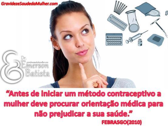 uso de anticoncepcionais