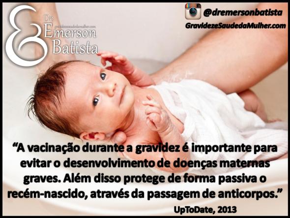Vacinas durante a gestação, pregnancy vaccinations imunização